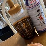しらたま+ - 黒蜜とお醤油はボトルでカスタマイズ!!