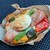ベルテコ - 料理写真:ポークソーセージとズッキーニのタルティーヌです