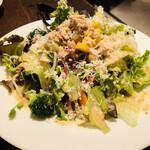 Focacceria la Brianza - 野菜たっぷりサラダ
