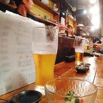 れだん - キリンビール生 400円