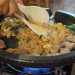 カチモゴ - サムギョプサルの〆は焼飯