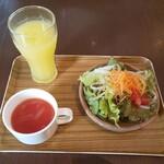 バリヤン - ドリンク、スープ、サラダ