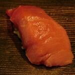 西麻布 鮨 ふくじゅ - 中トロ(13000円のお任せ握りのコース)