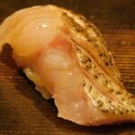 西麻布 鮨 ふくじゅ - クロムツ(13000円のお任せ握りのコース)