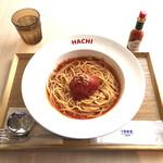 閖上 港食堂HACHI - 丸ごとラ・ファータのスープナポリタン(税込1100円)