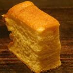 西麻布 鮨 ふくじゅ - 厚焼き玉子(13000円のお任せ握りのコース)