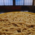草庵・中町井say - 麺は細めできれいな十割蕎麦