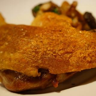ビストロプティットレジョン  - 料理写真:鴨のコンフィ オーブン焼き