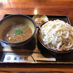 神明庵 甚五郎 - 料理写真:きいま!キーマカレーなんですよ( ´∀`)☀️