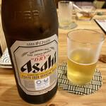 久松屋 - アサヒスーパードライ 中瓶 750円