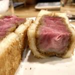 久松屋 - 数量限定 黒毛和牛カツサンド 3,500円