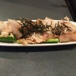 肉と魚 いっすんぼうし - 「梅たたききゅうり(¥280)」