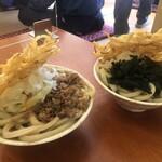 せんしゅう - 料理写真:肉天月見 750円 と スペシャル810円