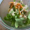 リズム - 料理写真:厚岸産水耕栽培グリーンリーフのサラダ