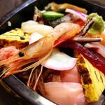 第二ひさご寿司 - ランチタイム限定 ちらし