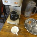 ぷらんたん - コーヒーはセルフ