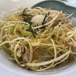 横浜家系ラーメン 一四家 - 料理写真:ネギチャ丼