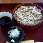 こくりこ(雛罌粟) - ざるそば 800円