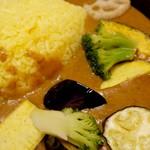 カレーハウス芳柳 - 野菜のカレー