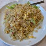 味香園 - 料理写真:海老炒飯 858円