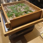 元 - 豚と野菜のセイロ蒸し