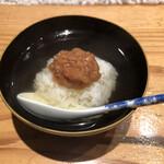 和食 二郎 - 梅茶漬け