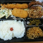 デリカ チャオ - 洋風幕の内弁当  ¥600