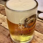 杉むら - 生ビール