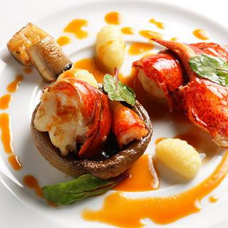 五感に響く美味しさ、一皿ごとに感動を生むシェフの技。