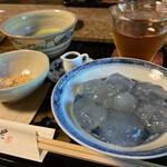 吉野葛 佐久良 - 葛餅 抹茶付き 1,100円