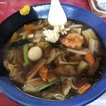 ふくみ - 料理写真:あんかけ焼きそば〈醤油味〉 (900円)