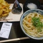 丸亀製麺 - おろし冷やしうどんのマル得セット570円
