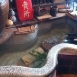 中の茶屋 - 成型池