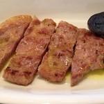 ビッテ - 三元豚の炭火焼 木イチゴのビネガーソース