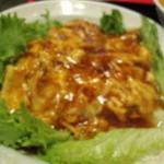 豆狸 - チリ玉丼