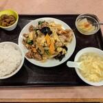 Misenrou - キクラゲと玉子炒め(850円)