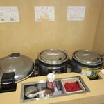 お祭り一番館 - ご飯、牛丼、カレー