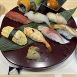 鮨 あしべ - 握り2,000円セット