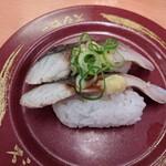 スシロー - 焼さば信州練りみそ炙り(150円+税)※笠原シェフ