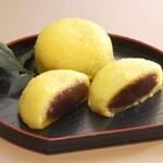 小池菓子舗 - 料理写真:粟まんじゅう、購入してすぐ温かい内に食べちゃったからお店の画像お借りしました
