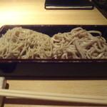 七彩 - 料理写真:二色蕎麦