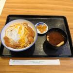 とんかつ 銀座梅林 - ロースかつ丼¥800