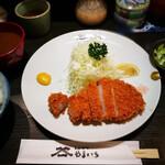 Tonkatsuyamaichi - 赤出汁の味噌汁
