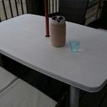 カフェ ペリペリ - こちらに座りました