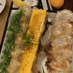 大阪餃子専門店 541+ - 餃子の盛り合わせ