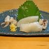 ishiusuhikiteuchikyourakutei - 料理写真:新イカの刺身