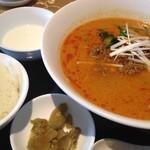 13787432 - 担担麺セット