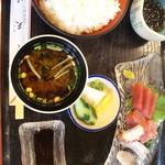 天峰 - 刺身定食・1,380円