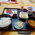 喜せん - 本日のランチ(刺身定食)700円税込
