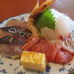 埼玉漁港 海鮮食堂 そうま水産 - 別皿へ移植(笑)